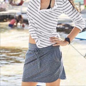 Athleta Terry Knit skirt